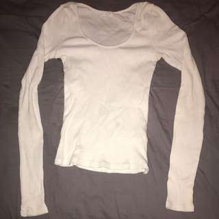 Garage White Long Sleeve