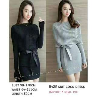 Dress Knit Coco IMPORT