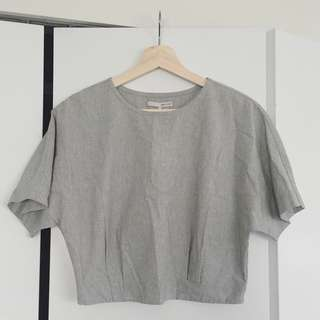 Oak & Fort crop top BNWT