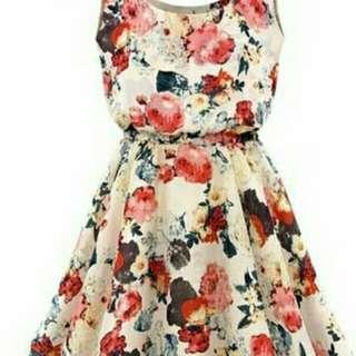 Mini.Dress Flowers