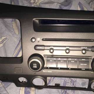 Honda Civic FD Stock Head Unit