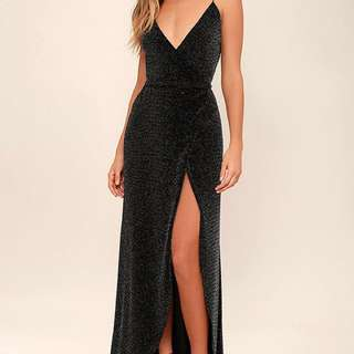 Celestial Black and Silver Dress