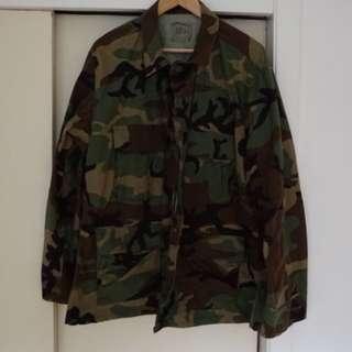 US Army camo camouflage jacket