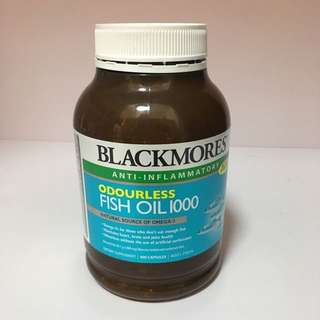 Blackmores Odourless Fish Oil 1000 400 capsules