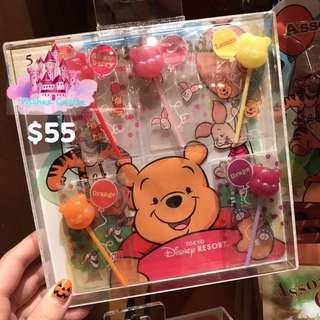 東京迪士尼樂園小熊維尼棒棒糖