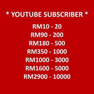 Youtube Subscribers Adder Services