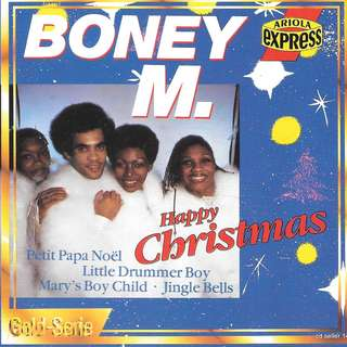 MY CD- BONEY M - HAPPY CHRISTMAS //FREE DELIVERY BY SINGPOST