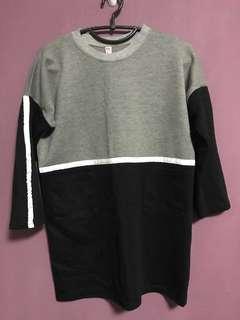 Long dress/sweater (CLEAR)