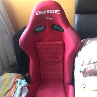 Bride semi bucket seat carbon fibre