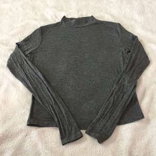 Zara Mock Neck shirt