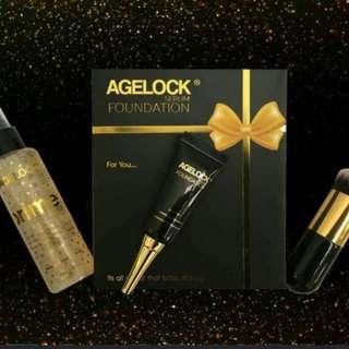 AGELOCK Serum Foundation & Primer Combo Set