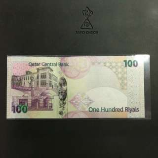 卡塔爾100 Riyals