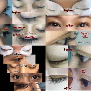 Eyelash Extensions (by: Certified Misencil Lash Stylist)