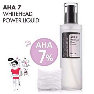BNIP Cosrx AHA Whitehead Power Liquid