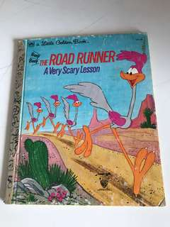 The Road Runner - A Very Scarry Lesson - Little Golden Book