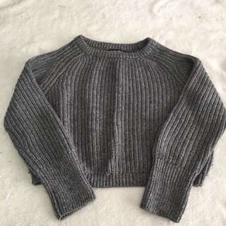 American Apparel Cropped Sweater
