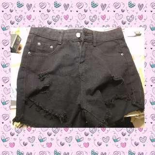 黑色潮流短褲🖤