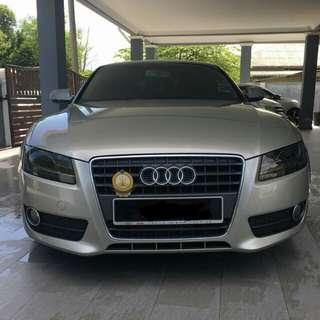 Audi a5 cash drive