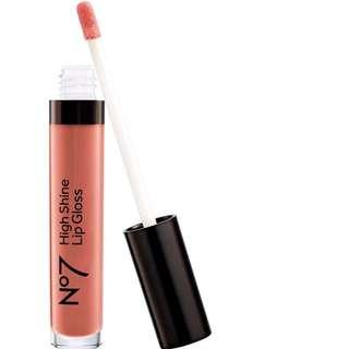No 7 lip gloss