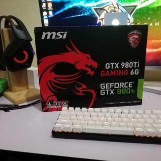 Msi gaming x 980 ti