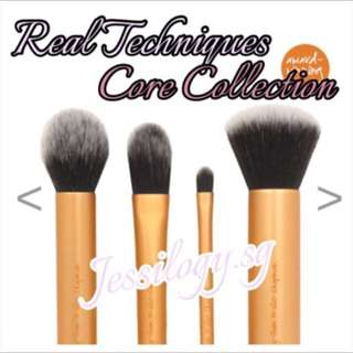 NEW INSTOCK Real Techniques Core Collection Brush Set By Sam And Nic Chapman / Real Techniques by Sam & Nic - CORE COLLECTION