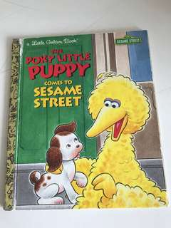 The Poky Little Puppy Comes To Sesame Street - Little Golden Book