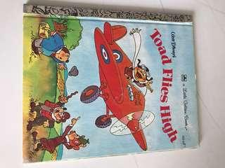 Toad Flies High - Little Golden Book