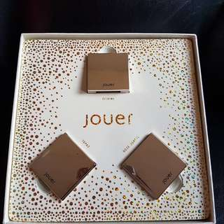 Jouer Cosmetics Powder Highlighter Trio