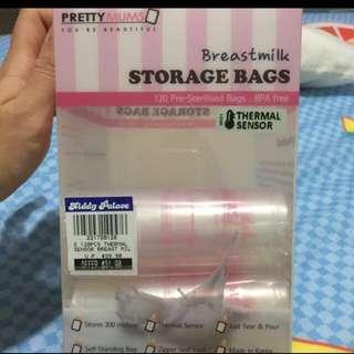 Breast Milk Storage Bags (est 60pcs)