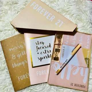 Forever 21 Notebooks, Notepads, Sticky Notes & etc.