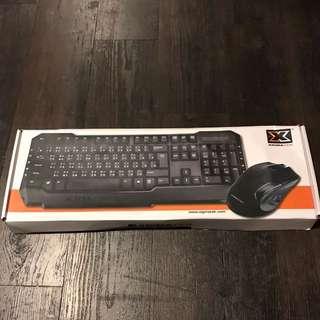 全新 鍵盤加滑鼠