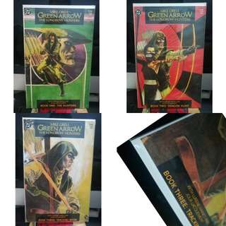 Green Arrow Lobgbow Hunters lot