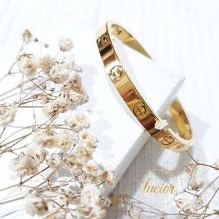 Gelang Cartier Love Bracelet KW