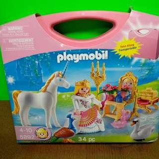 Playmobil  Princess N Unicorn carrying case