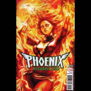 PHOENIX RESURRECTION #1 (2018) Artgerm Variant cover