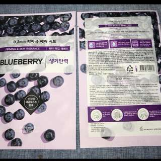 Etude House 0.2mm Face Mask: Blueberry