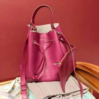 BN Furla Small Stacy Bucket Bag
