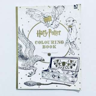 Harry Potter Coloring Book with Free WaterColor Pencils