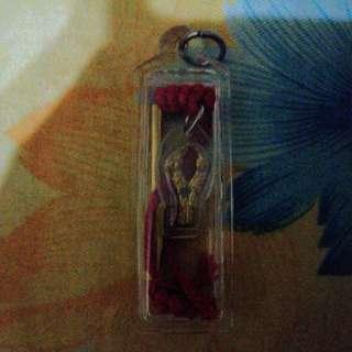 Kruba det Salika Takrut Wat Mai Chiangmai with casing for Sale.