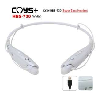 CYS+ CYSHBS-730 Wireless Stereo Headset bluetooth with 3 Size Ear Rubbersth Stereo Headset SKU: V28-ABTINTCYSHBS730