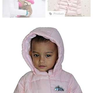 babyGap Raincoat /warm jacket ( 6mos-12 mos)