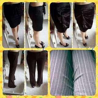 Joop / VA / Fox Brown Long Pants / Iora Pinstripe Pants