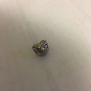 Pandora Inspired Heart Charm