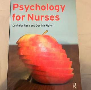 Psychology for Nurses Textbook