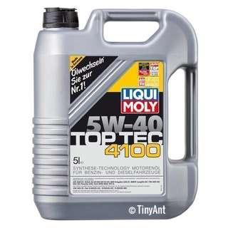 Liqui Moly Top Tec 4100 Engine Oil (5W-40)