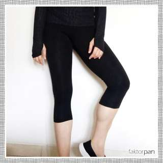 NO BOUNDARIES FOREVER 21 [Legging]  - CELANA PANJANG 7/8