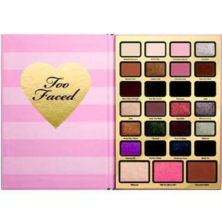 (New) Authentic Too Faced Holiday 2017 Collection - Boss Beauty Agenda