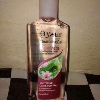 Ovale cleansing gel Aloe vera