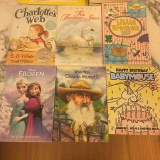 Set of 6 Children's Books