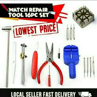 16pcs Watch Repair Kit